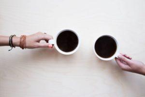 一緒にコーヒー