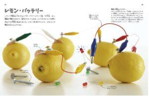 科学の実験レモンバッテリー