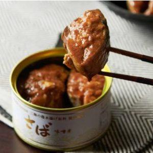 高級サバの味噌煮缶